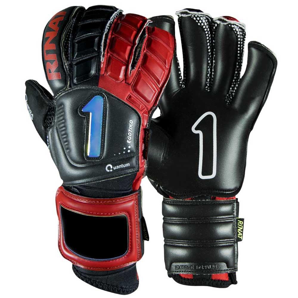 Rinat Egotiko Qauntum Pro Goalkeeper Gloves 7 Black / Red