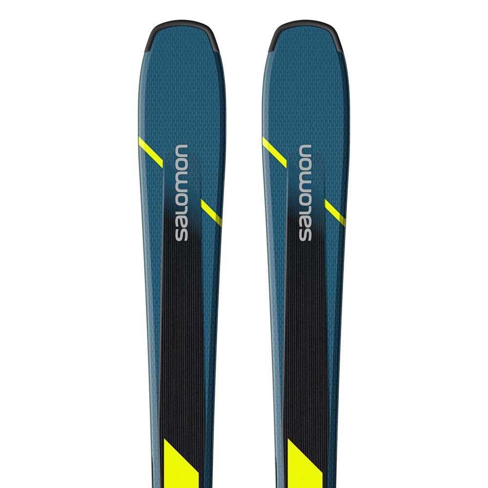 Salomon Xdr 76 St C+l10 Gw L80 Alpine Skis 140 Blue / Black / Yellow