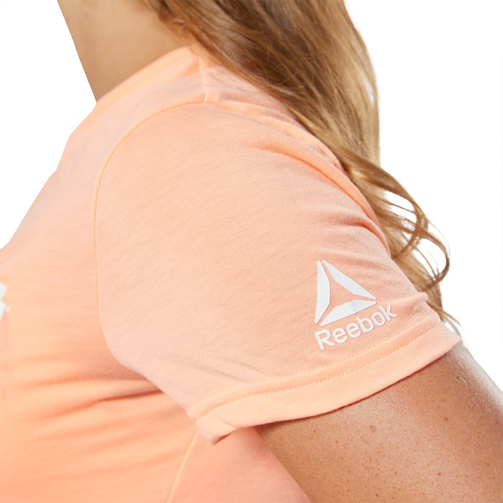 Reebok-Forging-Elite-Fitness-Speedwick-Orange-T43763-T-Shirts-Femme-Orange miniature 10