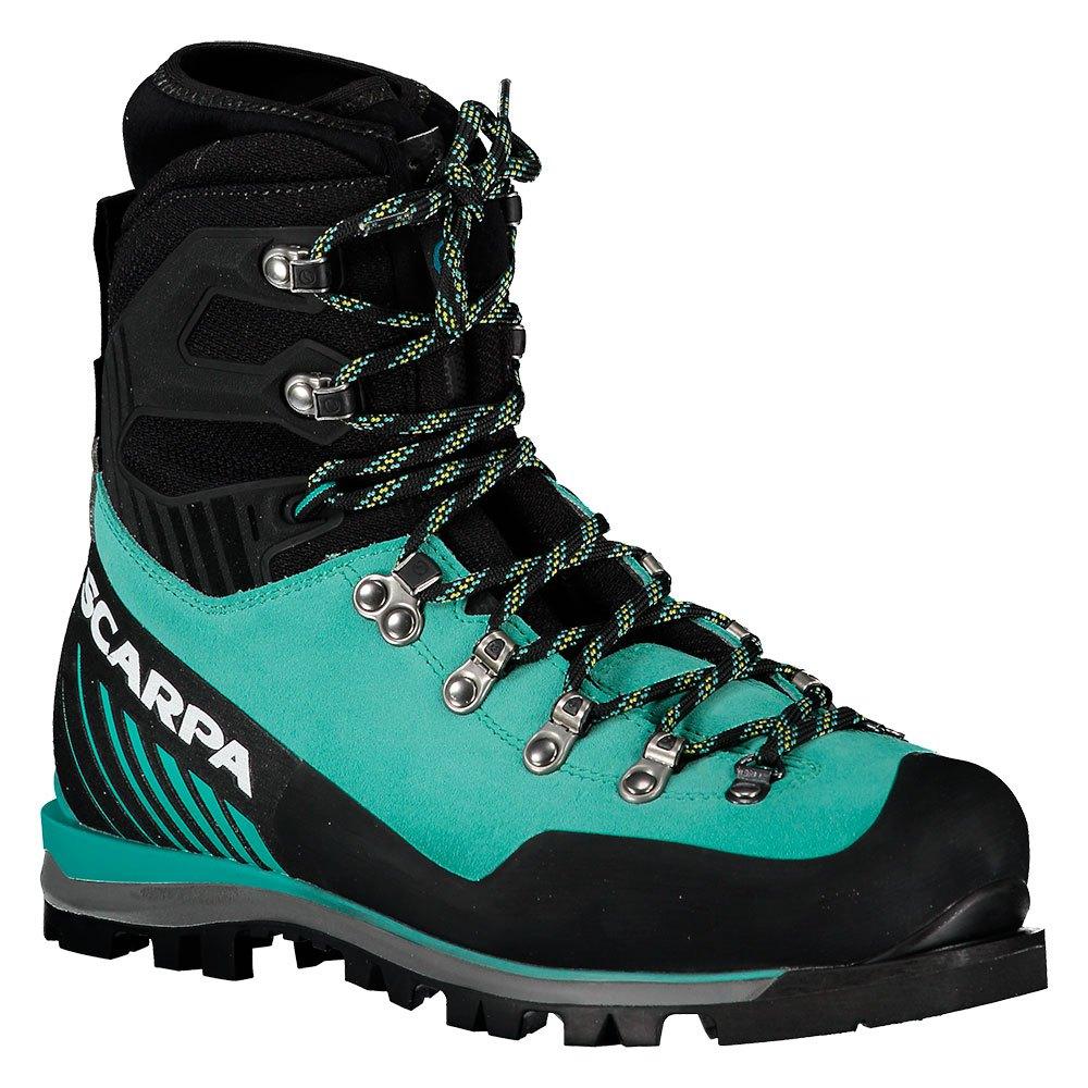 Scarpa Mont Blanc Pro Goretex EU 38 1/2 Green Blue