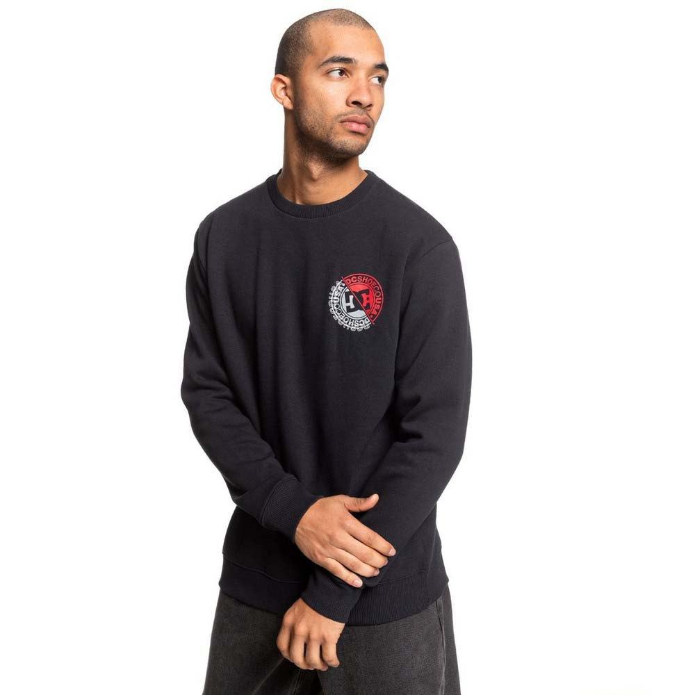 Dc-Shoes-Brightroller-Crew-Black-T80289-Sweatshirts-and-Hoodies-Male-Black thumbnail 9