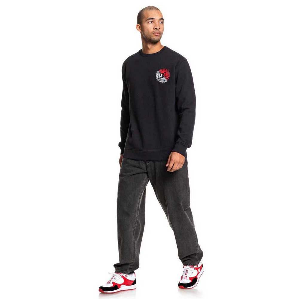 Dc-Shoes-Brightroller-Crew-Black-T80289-Sweatshirts-and-Hoodies-Male-Black thumbnail 11