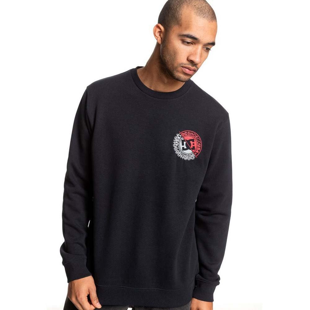 Dc-Shoes-Brightroller-Crew-Black-T80289-Sweatshirts-and-Hoodies-Male-Black thumbnail 12