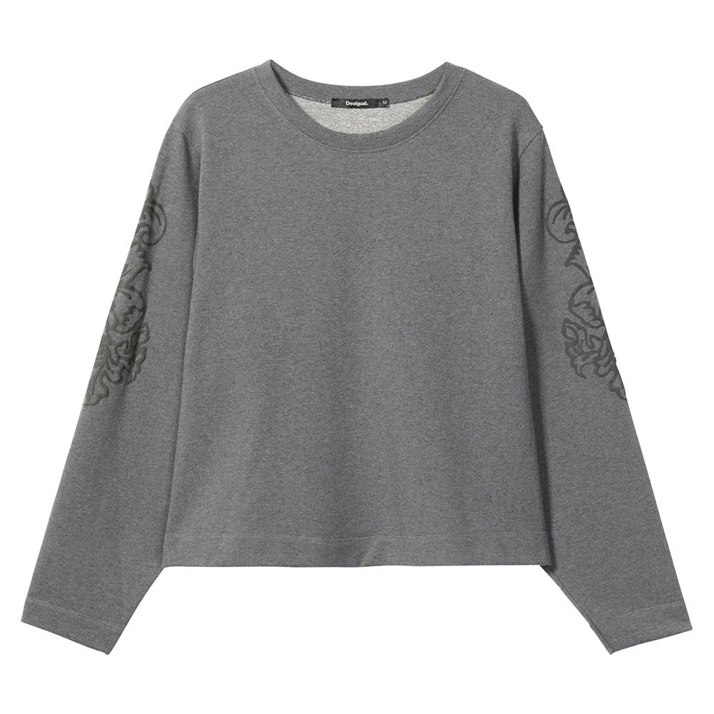 Desigual Crew Neck S Grey Vigore