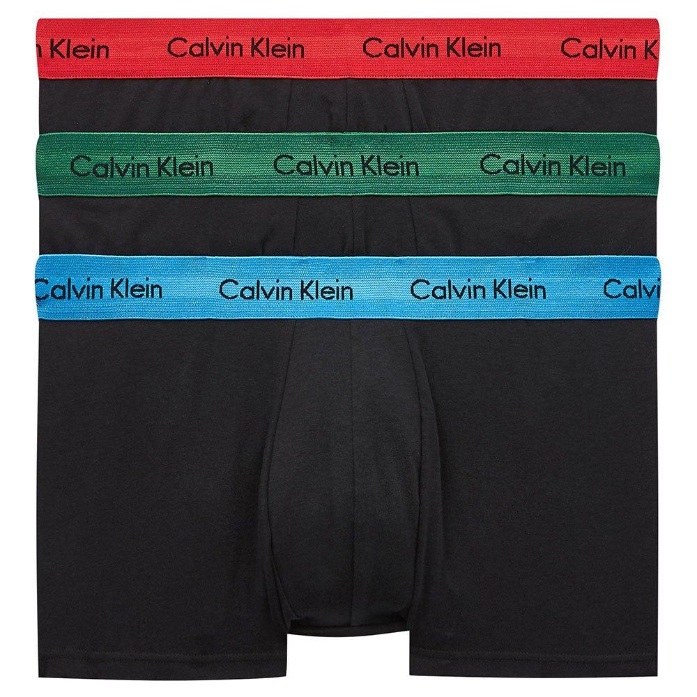 Calvin Klein Underwear Low Rise 3 Pack S Eden / Vallarta Blue / Temper Wb