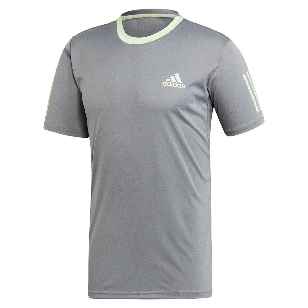 Adidas Club 3 Stripes S Grey Three / Bright Green