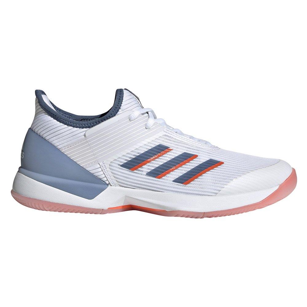 Adidas Adizero Ubersonic 3 EU 38 Ftwr White / Tech Ink / True Orange