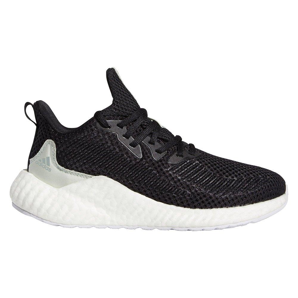 Adidas Alphaboost Parley EU 38 Core Black / Linen Green / Ftwr White