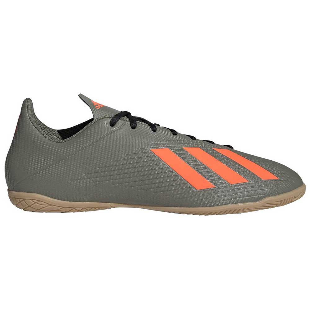 Adidas Chaussures Football Salle X 19.4 In EU 44 Legend Green / Solar Orange / Core Black