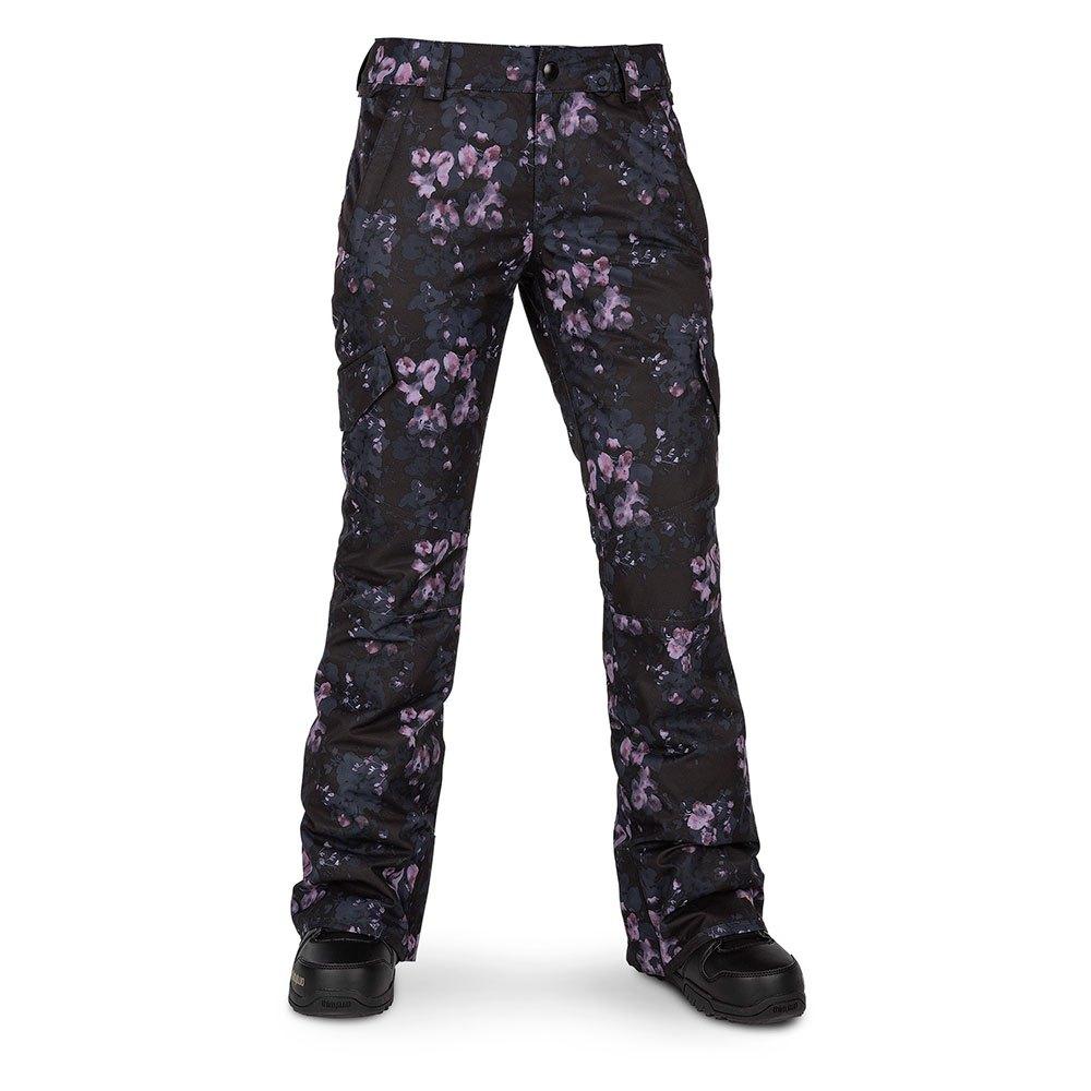 volcom-bridger-insulated-m-black-floral-print