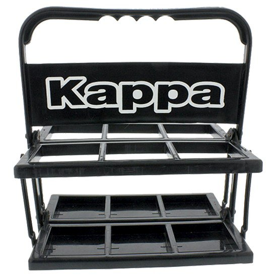 Kappa Anni Carrier For 6 Bottles One Size Black / White