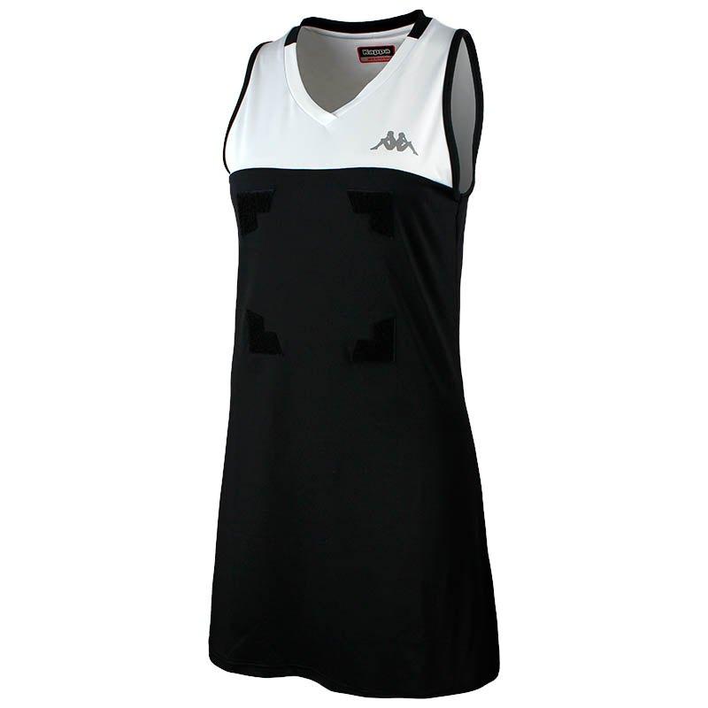 Kappa Robe Courte Heleni Front Velcro 10 Years Black / White
