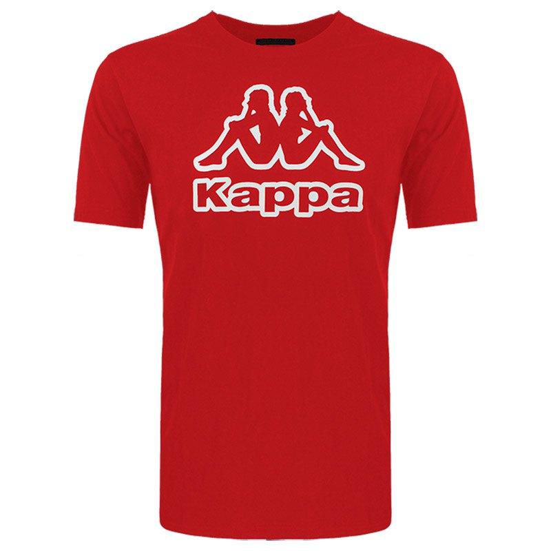 Kappa T-shirt Manche Courte Mancini 5 Units 12 Years Red