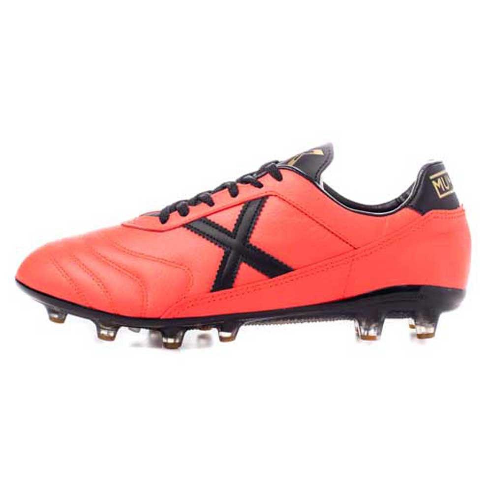 Munich Chaussures Football Mundial 2.0 Ag EU 41 Coral / Black