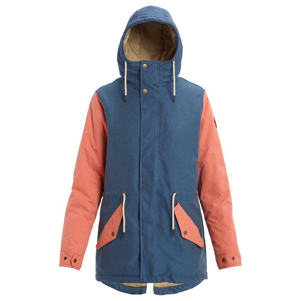 Burton Insulated Sadie Jacket XS Light Denim / Crabapple