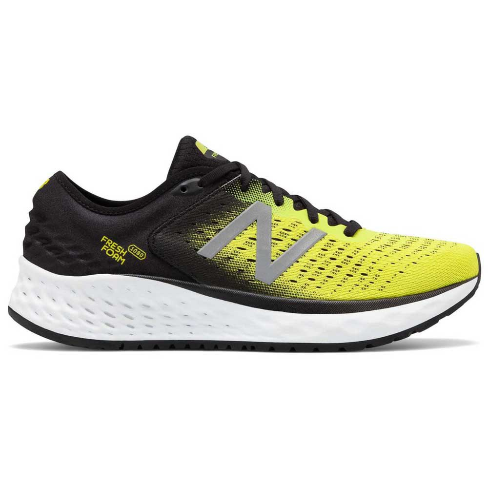 New Balance Fresh Foam 1080v9 EU 40 1/2 Black / Yellow / White