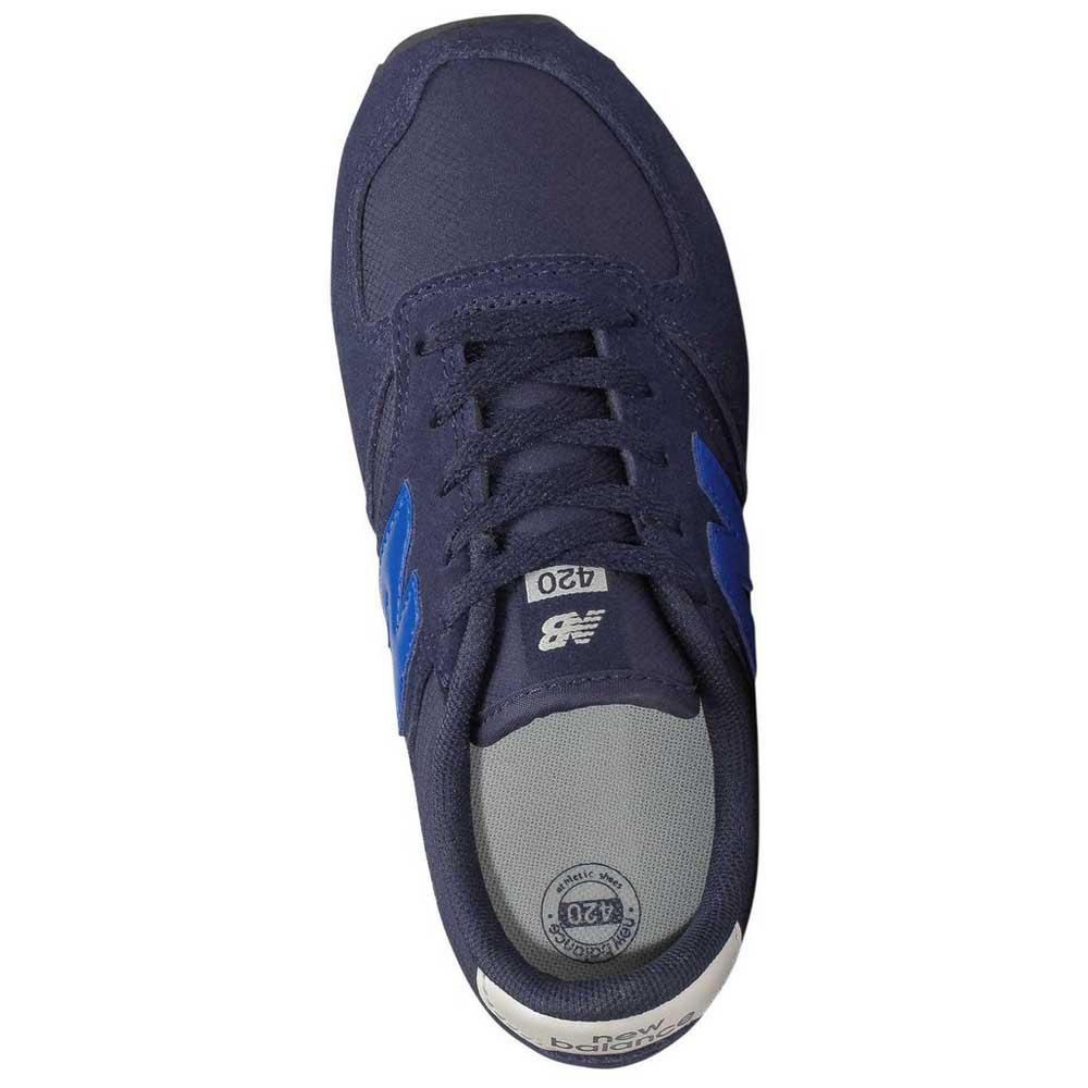 new balance 420 uomo blu