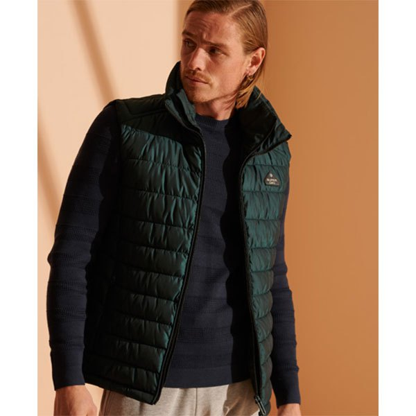 Superdry Double Zip Fuji M Country Green