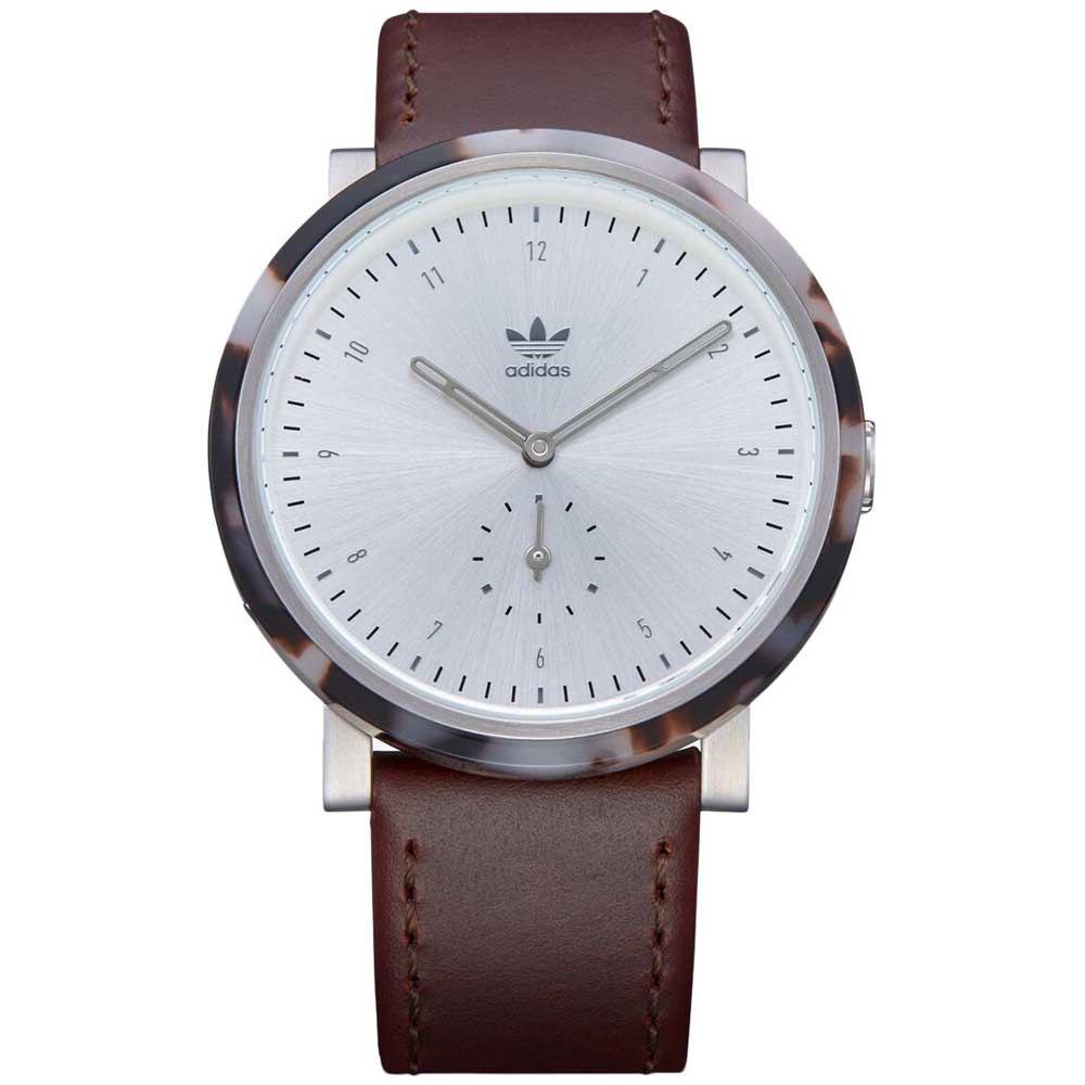 Adidas Watches District Al3 One Size Seasmoke Tortoise/Silver/Brown