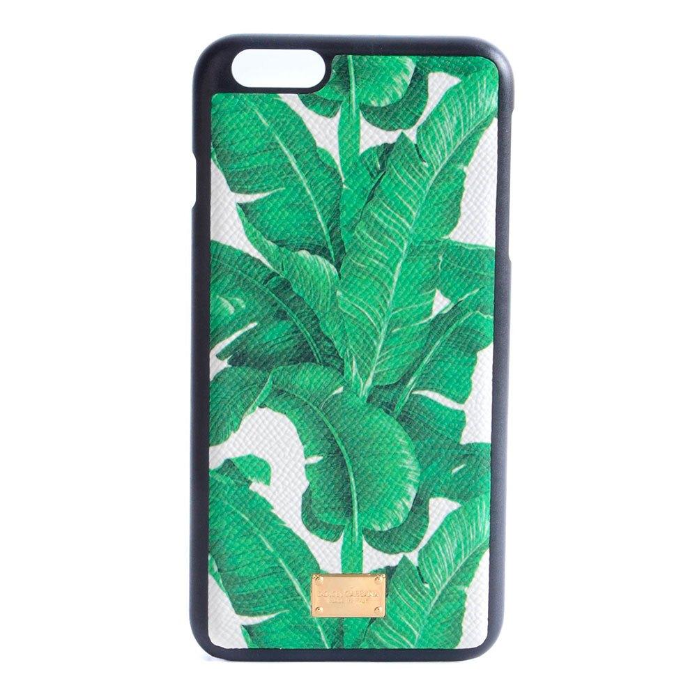 Dolce & Gabbana Banana Leaf Print Iphone 6/6s Plus Case One Size Green