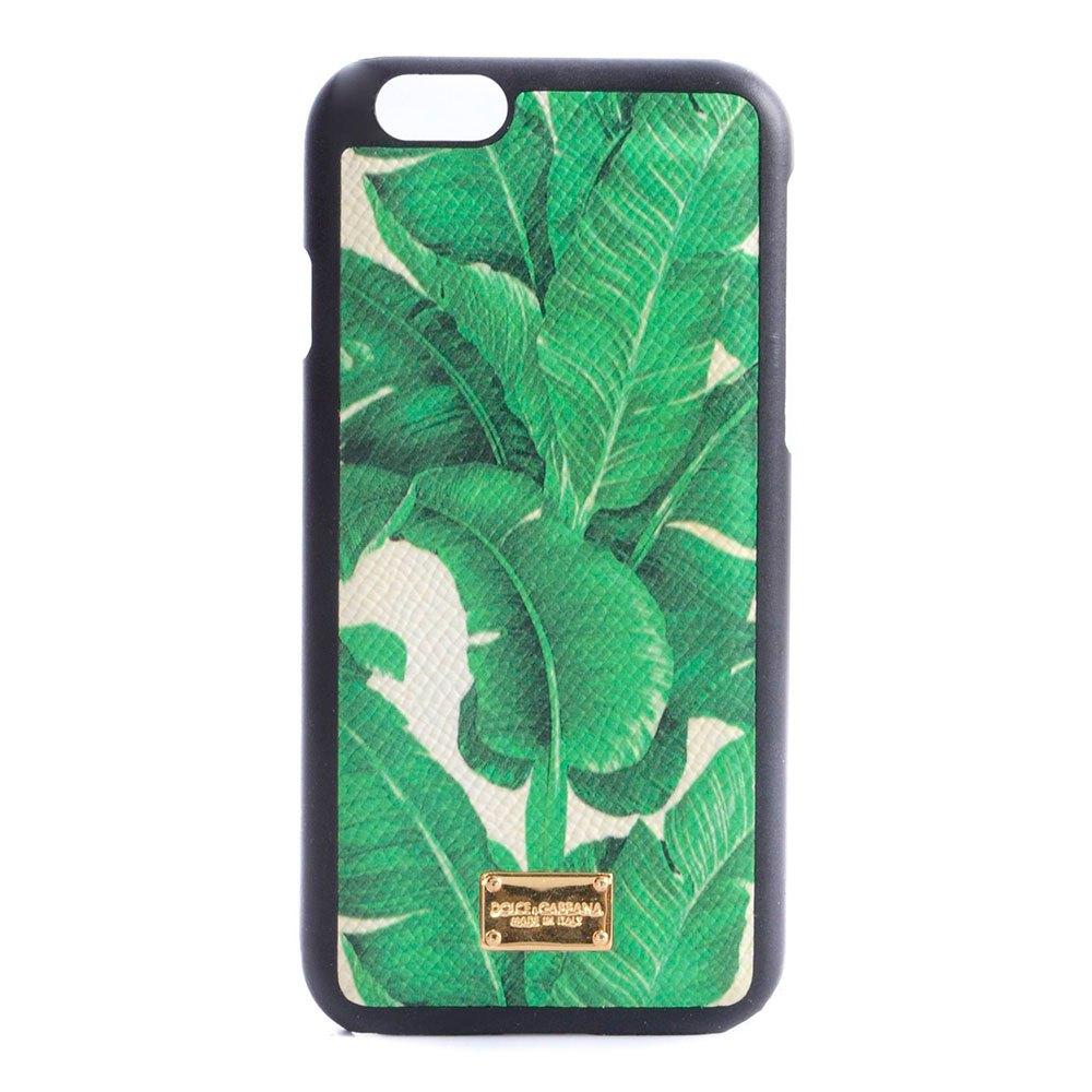 Dolce & Gabbana Iphone 6/6s Banana Leaf Print Case One Size Green
