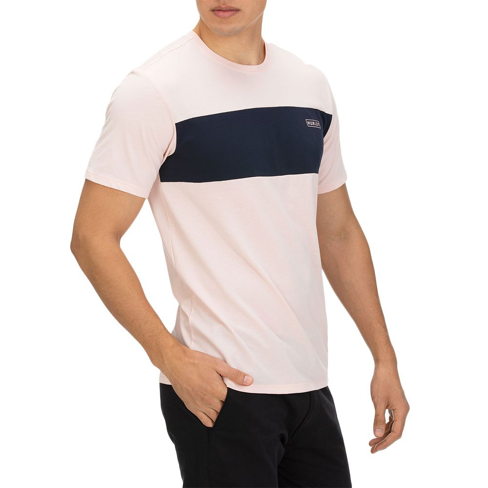 Hurley Mens Dri Fit Blocked T-Shirt