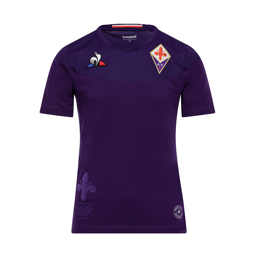 Le Coq Sportif Ac Fiorentina Home 19/20 Junior 4 Years Cyber Grape / Cyber Grape Intense