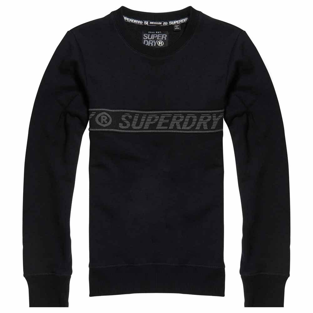 Superdry Universal Tape Crew XL Black