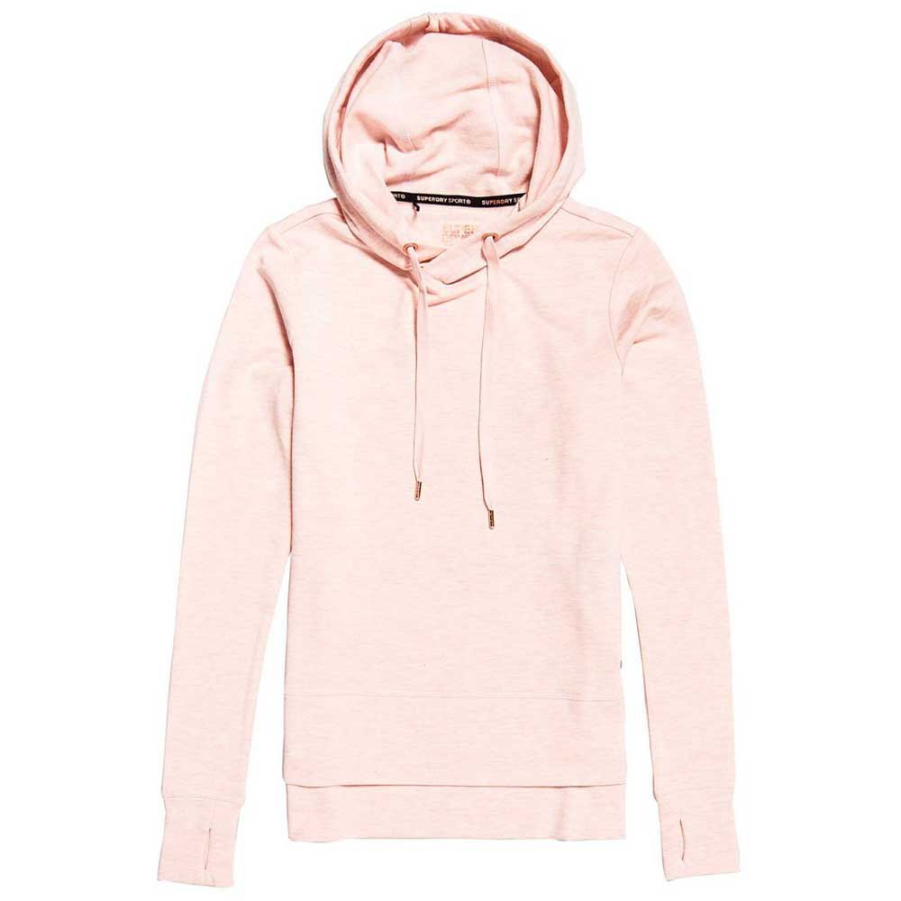 Superdry Active Studio Luxe Hoodie M Orchid Marl