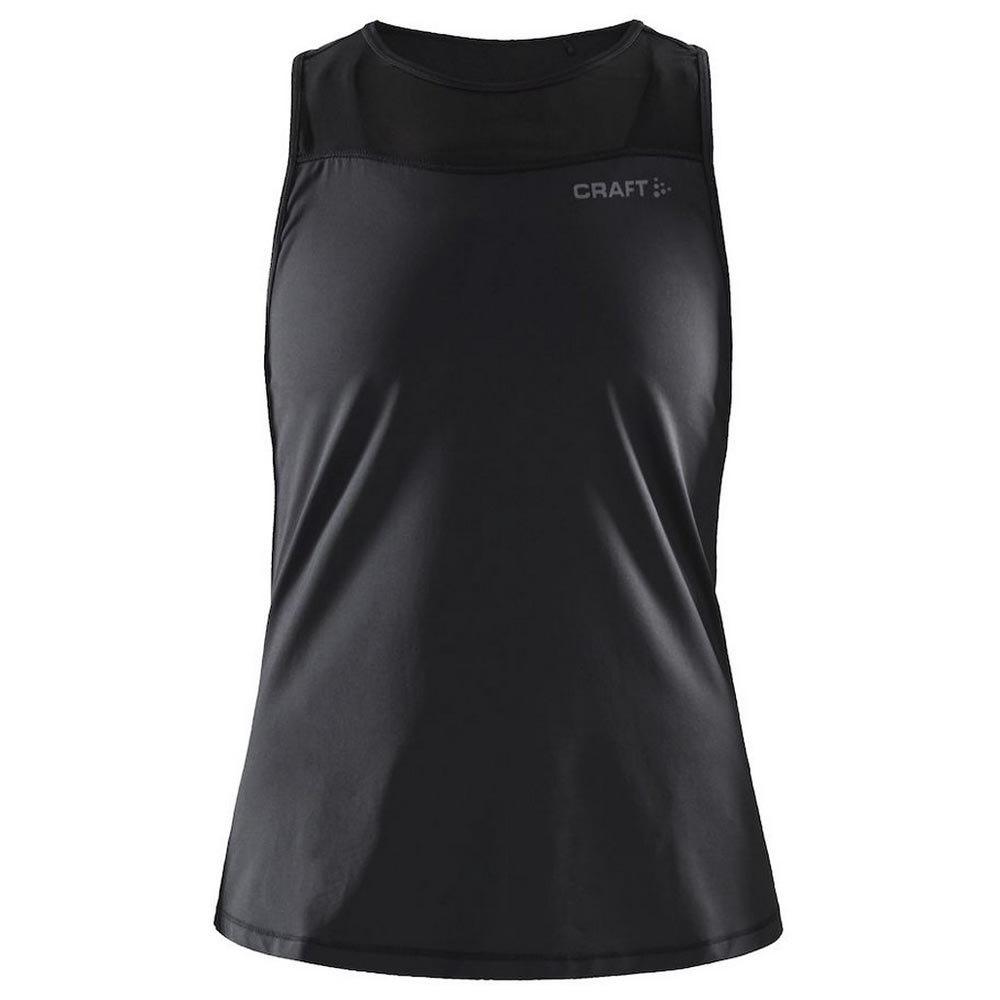 Craft T-shirt Sans Manches Charge St M Black