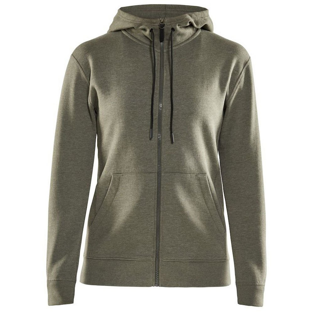 Craft Full Zip Hoody S Woods Melange