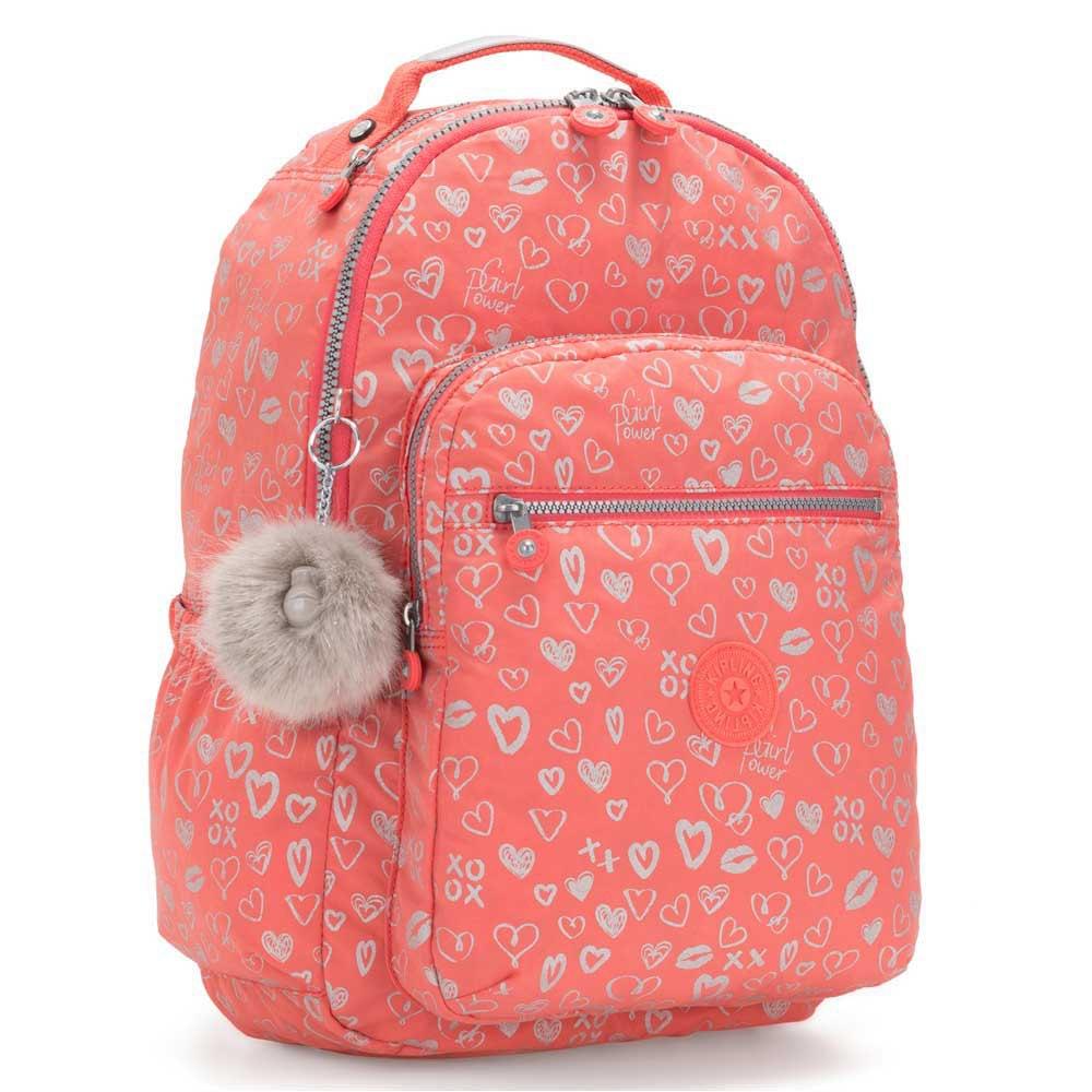 Kipling Seoul Go 27l One Size Hearty Pink Met