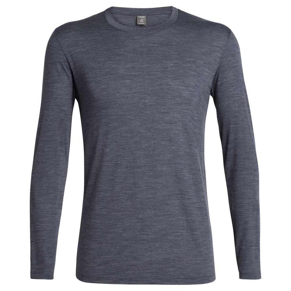 Icebreaker Solace Crew Long Sleeve T-shirt S Midnight Navy