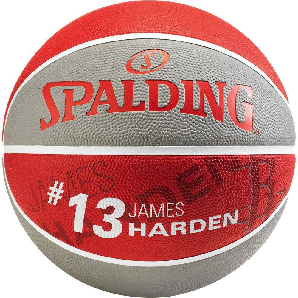 Spalding Nba Player James Harden 7 Grey / Red