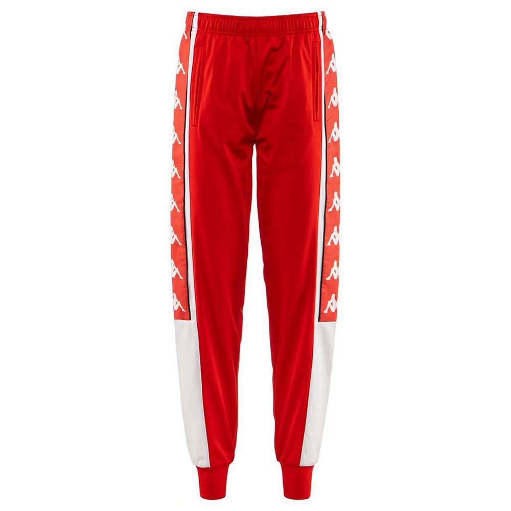 Kappa Pantalon Longue Arsis L Red Fire / White