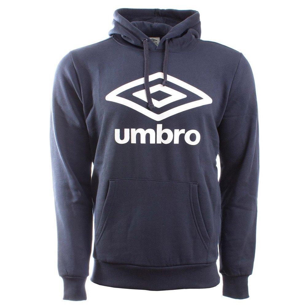 Umbro Sweat À Capuche Large Logo S Blue