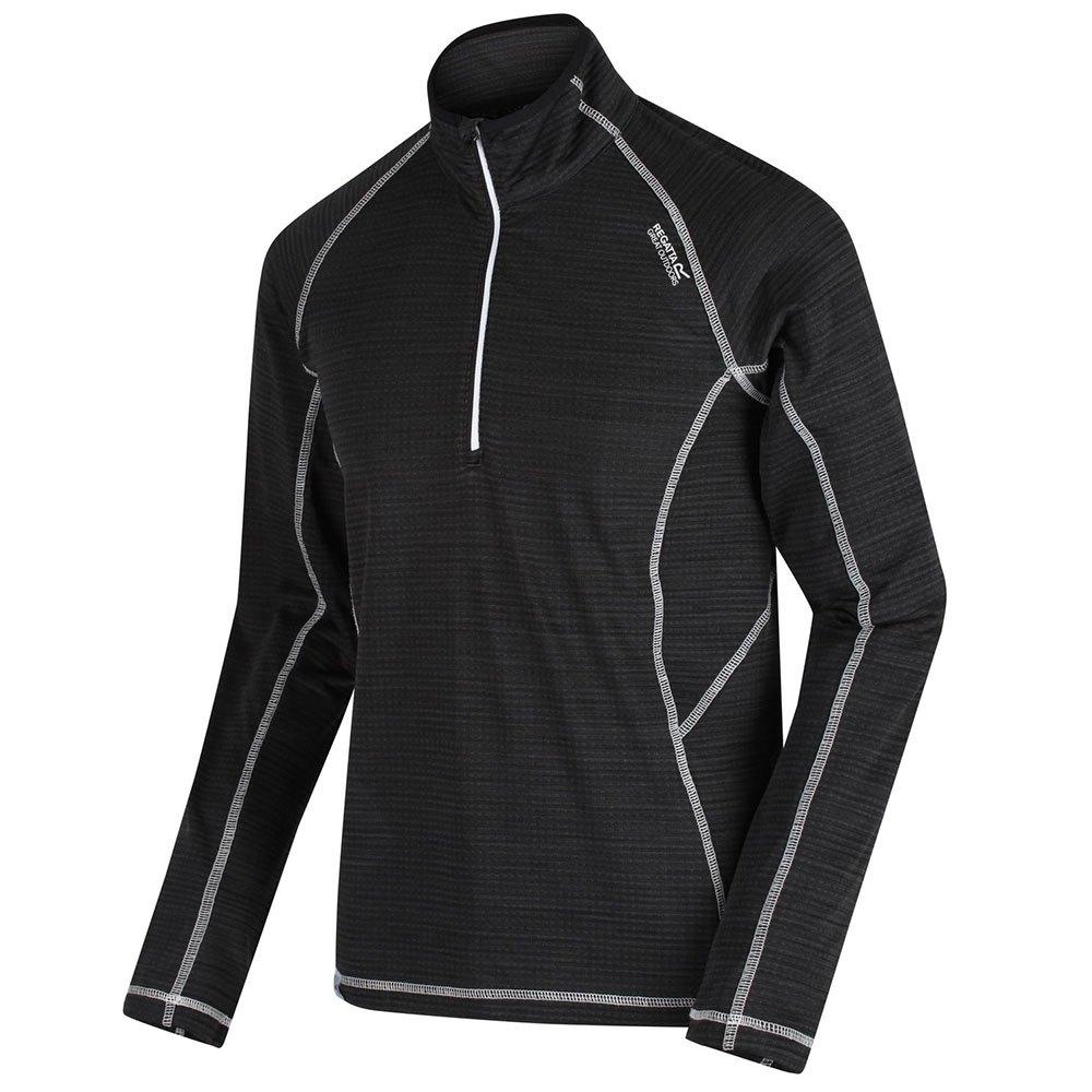 Regatta Yonder T-shirt Manche Longue 5XL Black