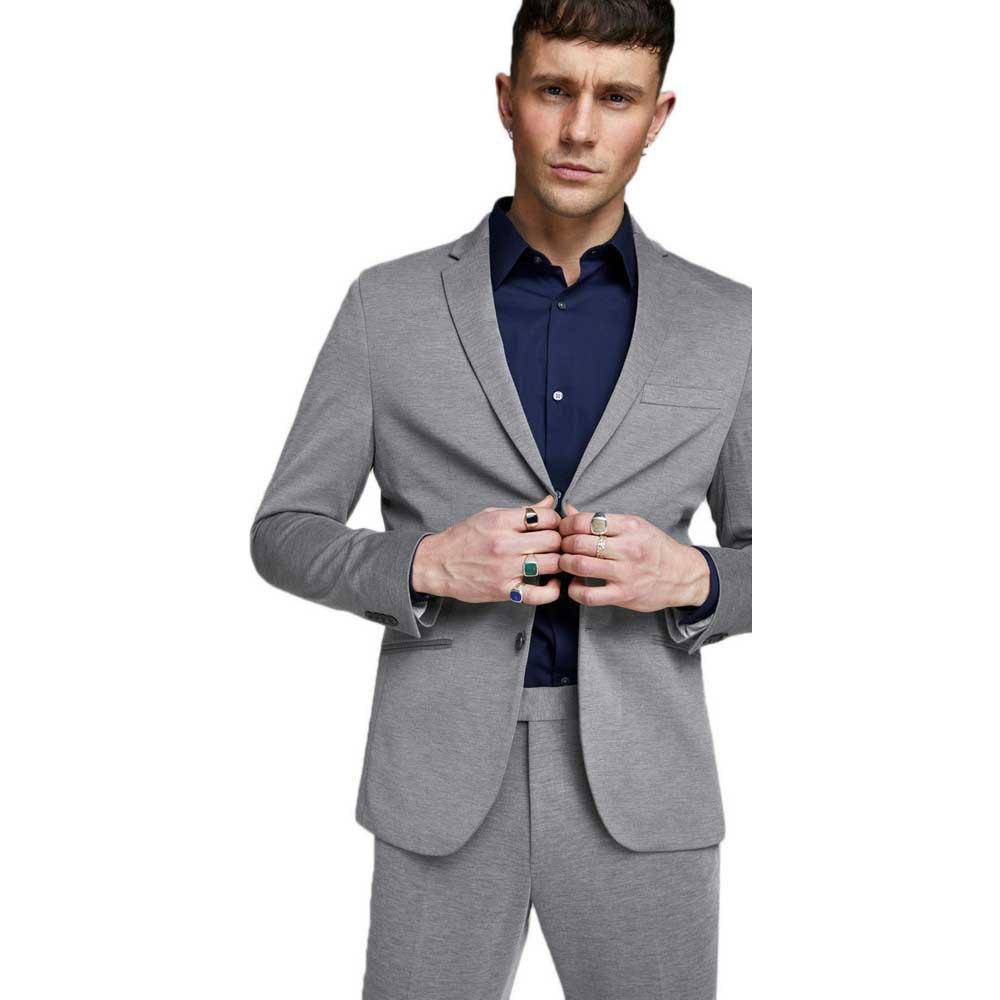 Jack-amp-Jones-Steven-Grey-T83248-Blazers-Male-Grey-Blazers-Jack-amp-jones thumbnail 11