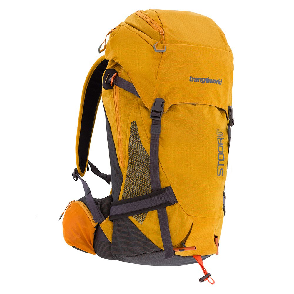 Trangoworld Sac à Dos Stoor 40l One Size Golden Glow