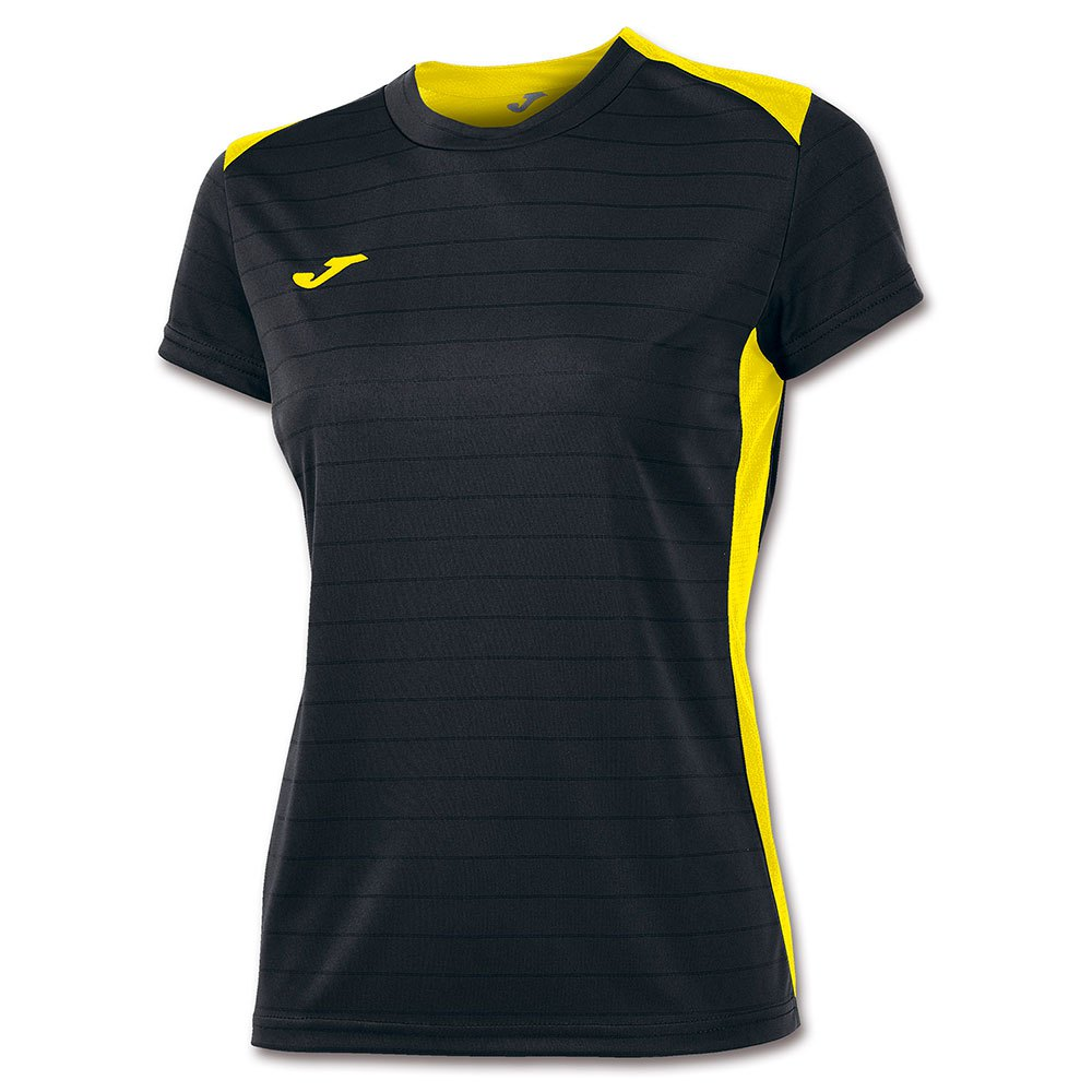 Joma T-shirt Manche Courte Campus Il 11-12 Years Black / Yellow