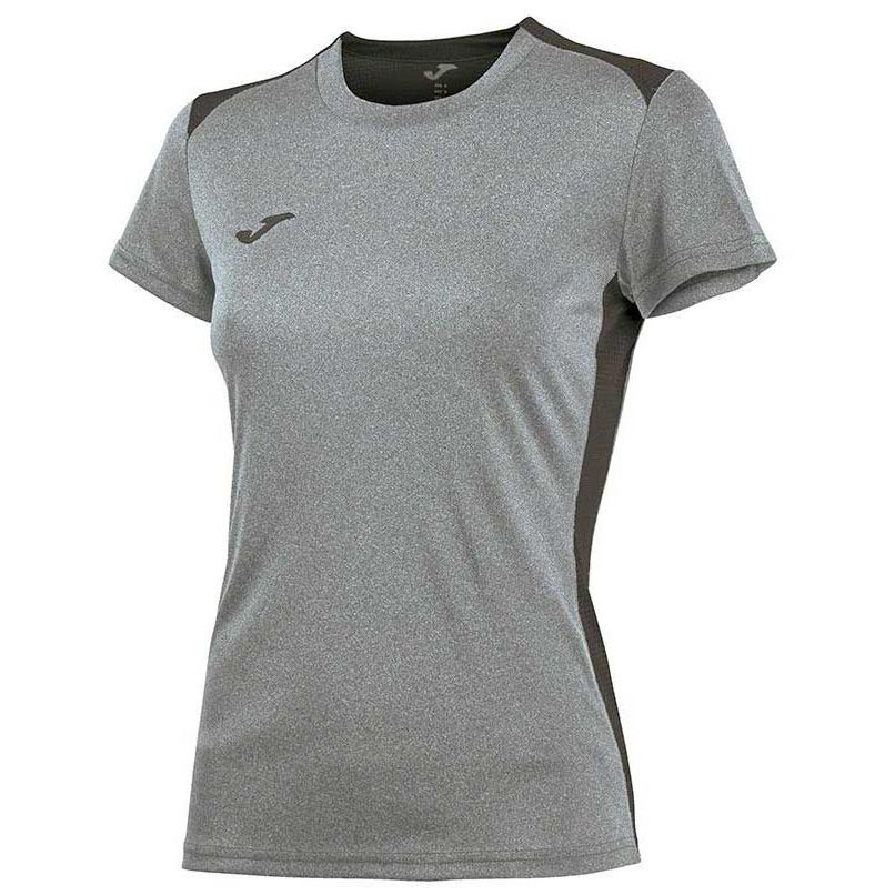 Joma T-shirt Manche Courte Campus Il 11-12 Years Light Melange / Anthracite