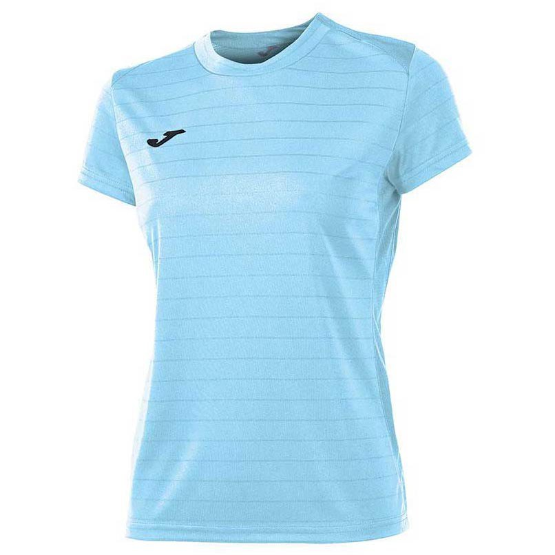 Joma T-shirt Manche Courte Campus Il 11-12 Years Sky Blue