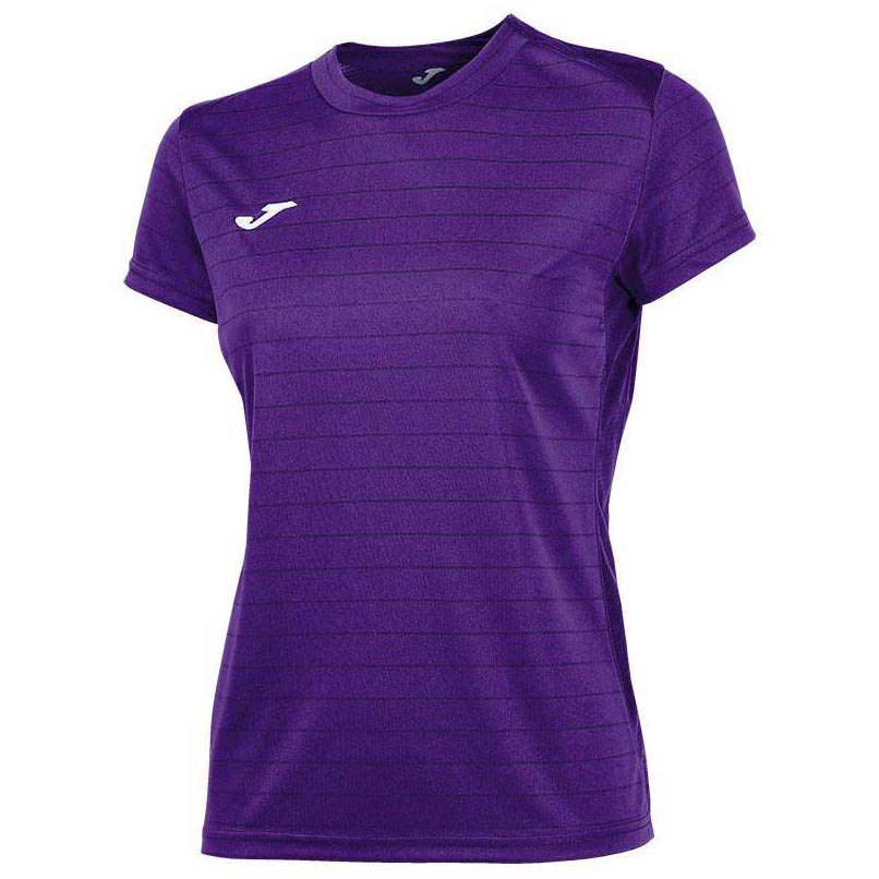 Joma T-shirt Manche Courte Campus Il 11-12 Years Violet