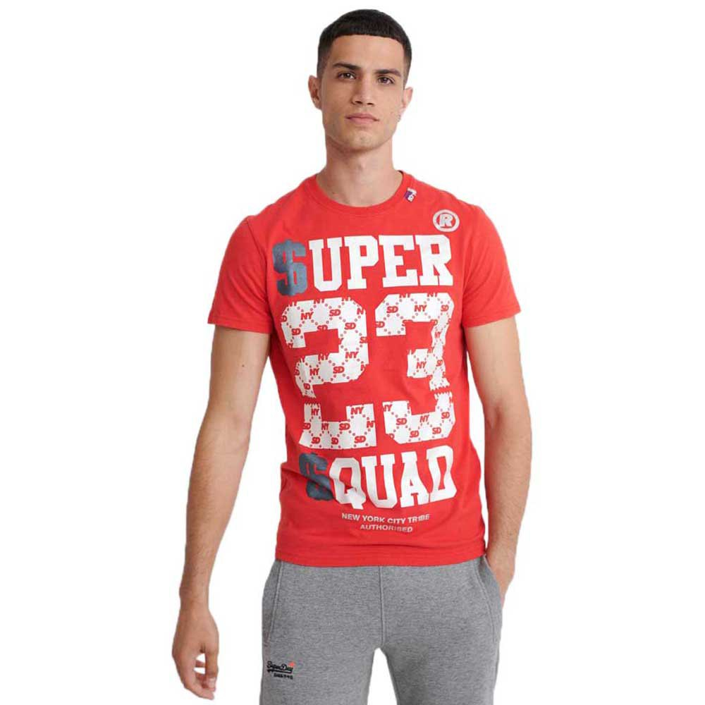 Superdry Squad M Heritage Red