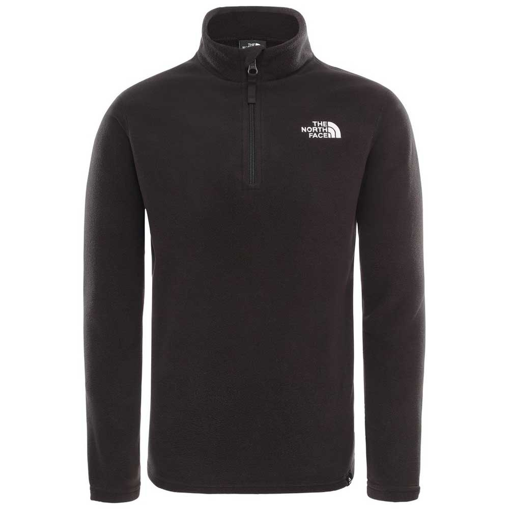 the-north-face-glacier-1-4-zip-l-tnf-black-tnf-white