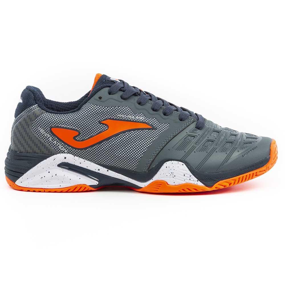 Joma Pro Roland All Court EU 40 Grey / Orange