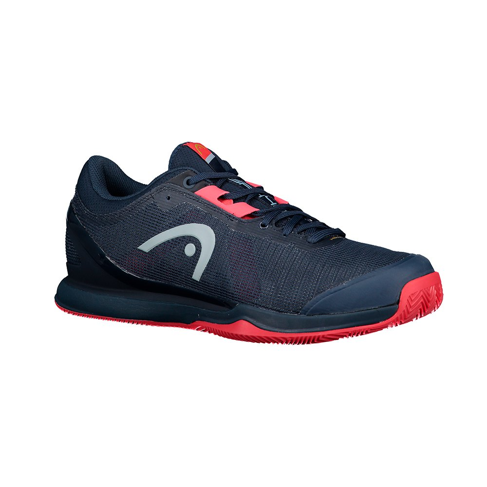 Head Racket Sprint Pro 3.0 Sanyo EU 44 Midnight Navy / Neon Red