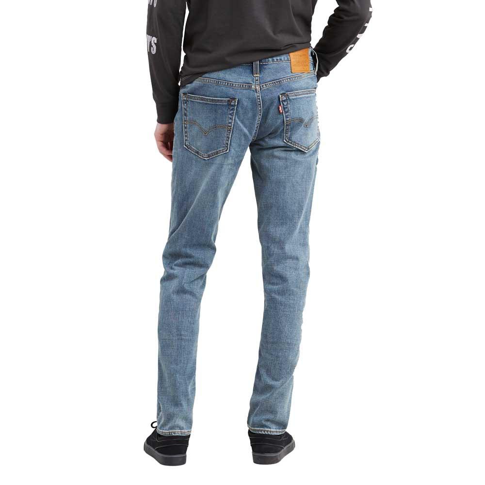 Levi-s-511-Slim-Fit-Gris-T47291-Pantalons-Homme-Gris-Pantalons-Levi-s miniature 6