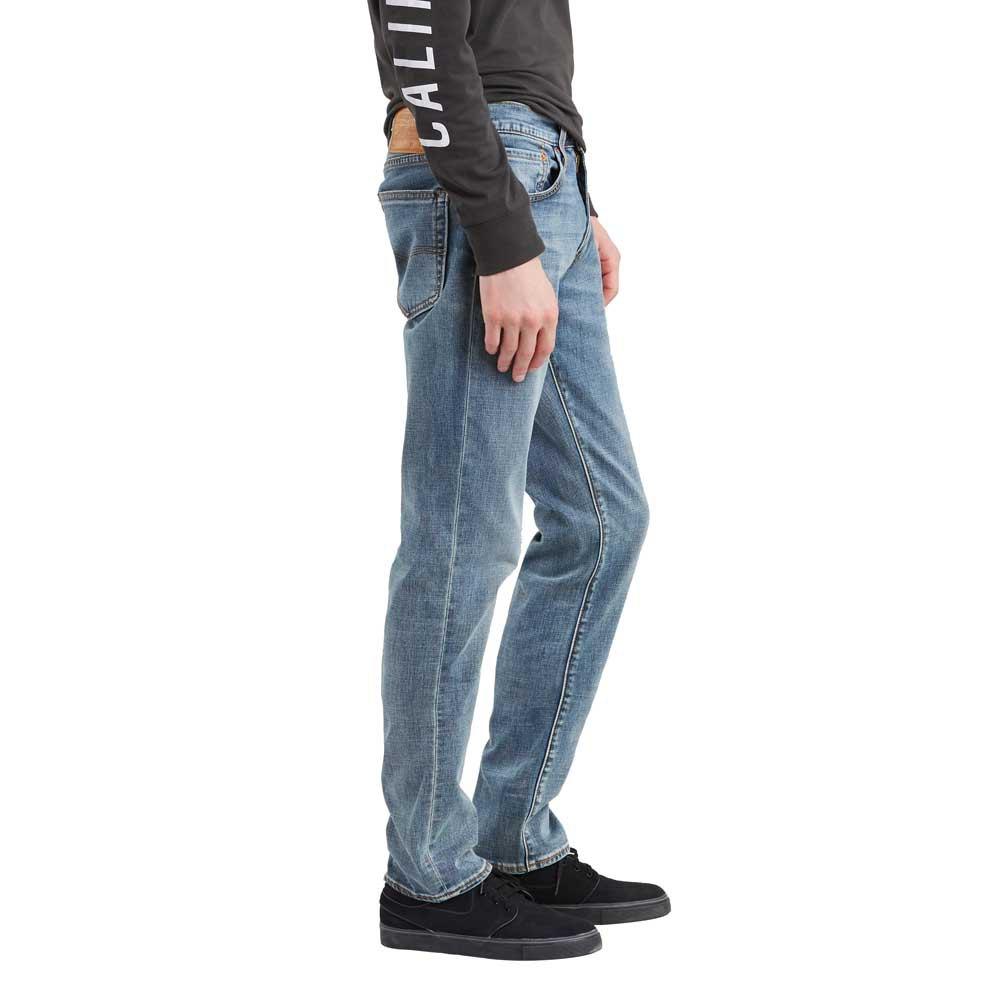 Levi-s-511-Slim-Fit-Gris-T47291-Pantalons-Homme-Gris-Pantalons-Levi-s miniature 7