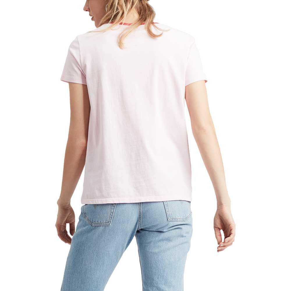 Levi-s-Perfect-Rose-T29119-T-Shirts-Femme-Rose-T-Shirts-Levi-s-mode miniature 4